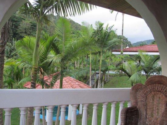 Hotel Rio Perlas Spa & Resort: Blick vom Balkon