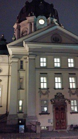 Ibis Styles Stockholm Odenplan: Вид из номера 216 на втором этаже