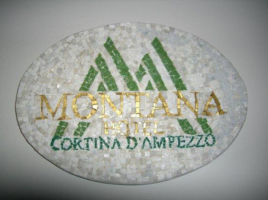 Hotel Montana: insegna hotel