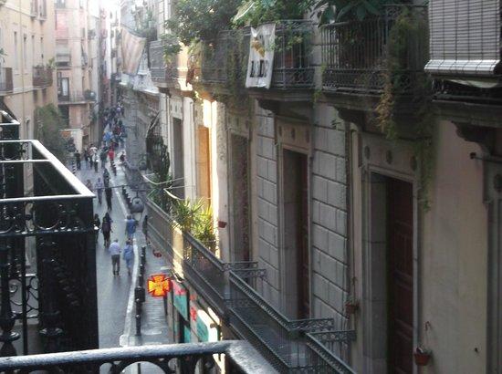 Hostal Quartier Gothic: view