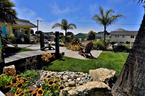 Beach Bungalow Inn and Suites: Courtyard