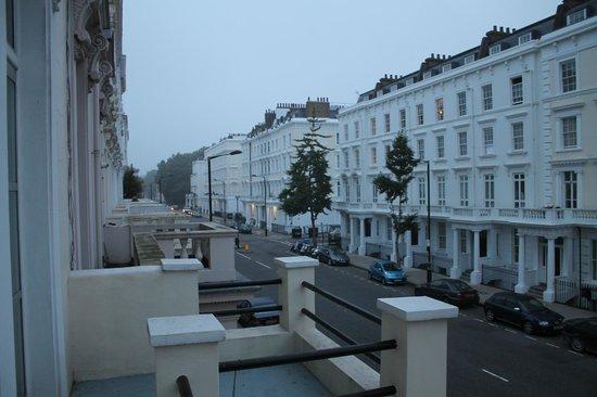 St. George's Pimlico: Vue du balcon