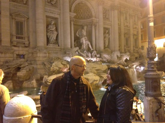 Rome Driving Tours: Trevi fountain