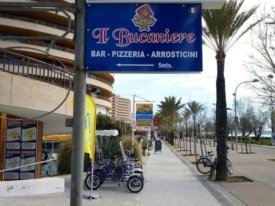 Il Bucaniere Playa de Palma: La Nostra Bandiera