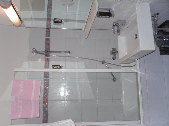 Hotel Beethoven Wien: salle de bain