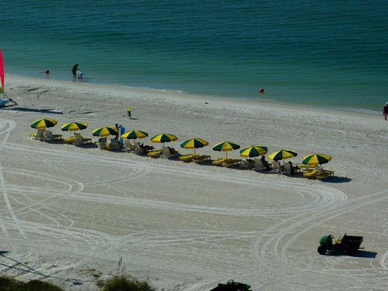 Marriott's Crystal Shores: Beach Umbrellas