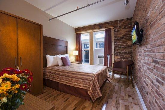 Hotel Quartier des Spectacles: Standard single room - 1 dbl