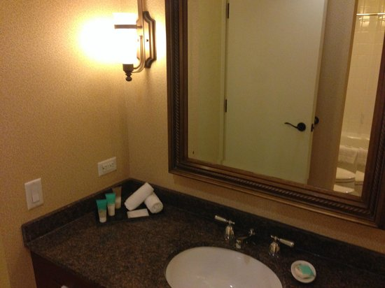 Hyatt Regency Calgary: bathroom, no shower gel