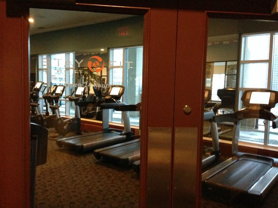 Hyatt Regency Calgary: gym