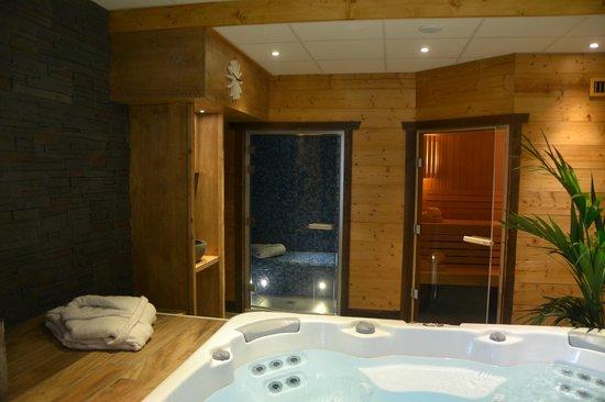 Areches, Frankrike: Espace détente (sauna, hammam et jacuzzi)
