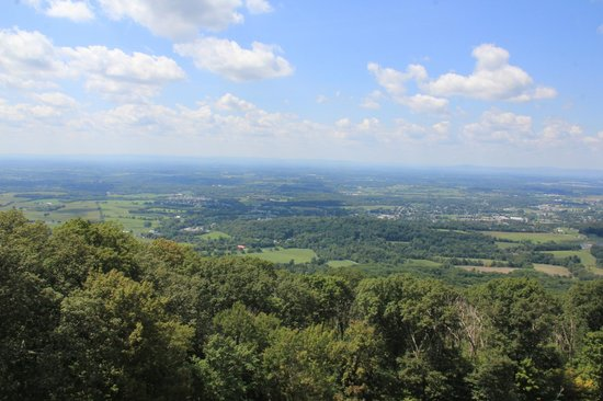 Washington Monument State Park: View from the top - not bad!