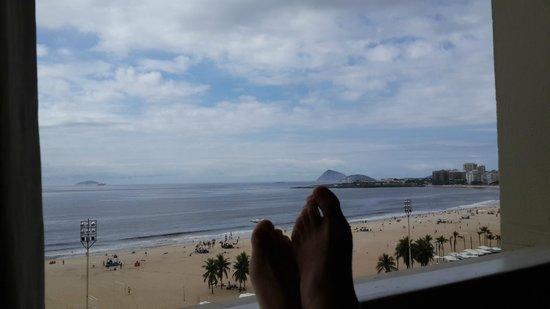 Olinda Rio Hotel: Vista habitacion piso 8