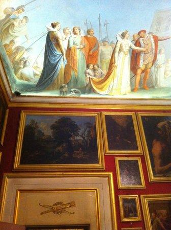 Museo Casa Martelli: Museo di Casa Martelli a Firenze, particolare del soffitto di una sala