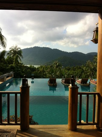 Santhiya Koh Phangan Resort & Spa: View from supreme deluxe with pool acces