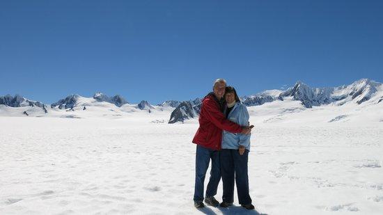 Glacier Helicopters: gorgeous, Mt Tasman
