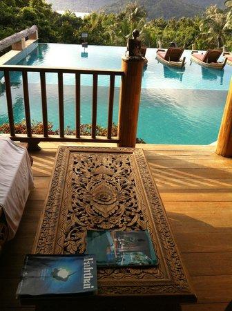 Santhiya Koh Phangan Resort & Spa: View from the terrace