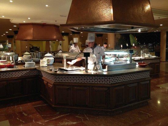 Barcelo Corralejo Bay : Kockarna lagade god mat