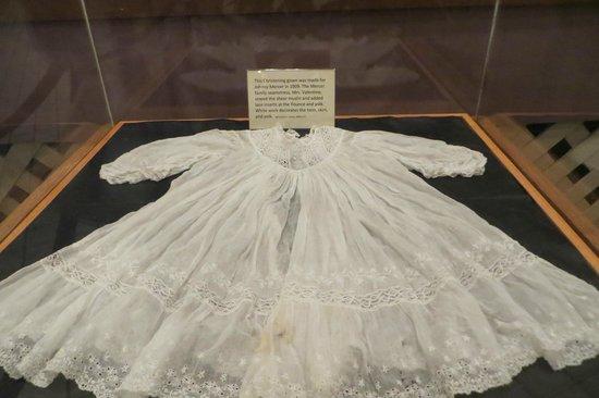 Savannah History Museum: Johnny Mercer's baptismal dress