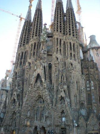 HCC Taber : La Sagrada Familia all'uscita dalla fermata della metro