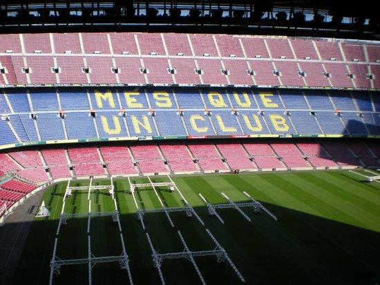 HCC Taber: visita al Camp Nou ero scettica, mi sono ricreduta.. ne vale la pena....