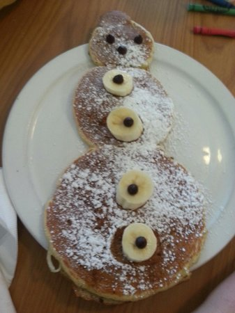 Red Rooster : Snowman pancakes