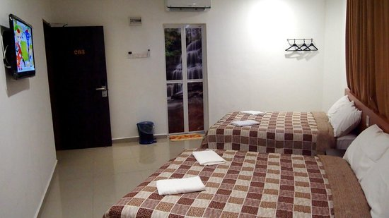 Manjung District, Μαλαισία: Twin Double room