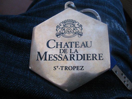 Chateau De La Messardiere : Key for Luxury