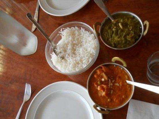 Priya Indian Restaurant: Not a lot of food at Priya