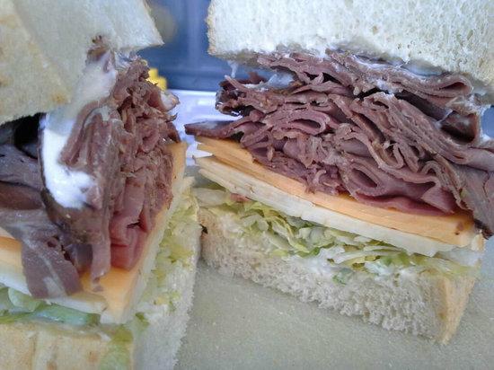 Shamus's Sandwich Shoppe: Our Roast Beef Sandwich
