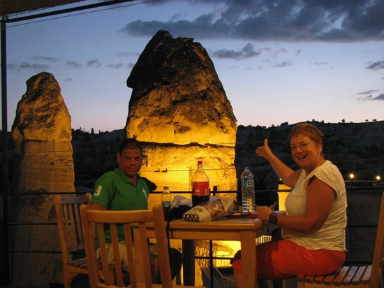 Goreme Suites Hotel: From the terraza