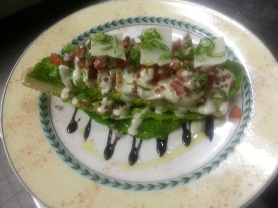 La Cote a l'Os: salade césar.
