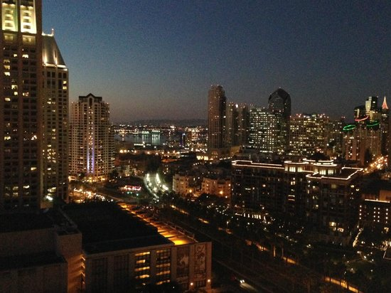 Marriott Marquis San Diego Marina: View from my room: #2310