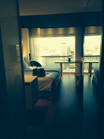 Barcelo Sants : Room with a view... Room 414