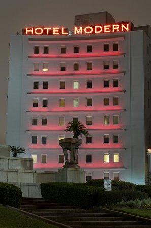 The Hotel Modern Facade