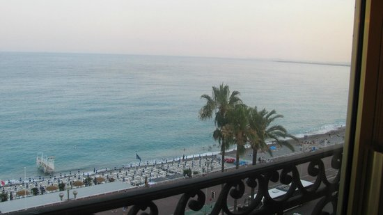 Hotel Negresco: View from the suite