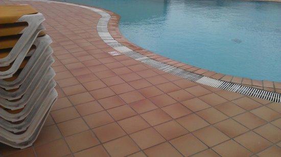 Alisios Playa: how  the deep pool is