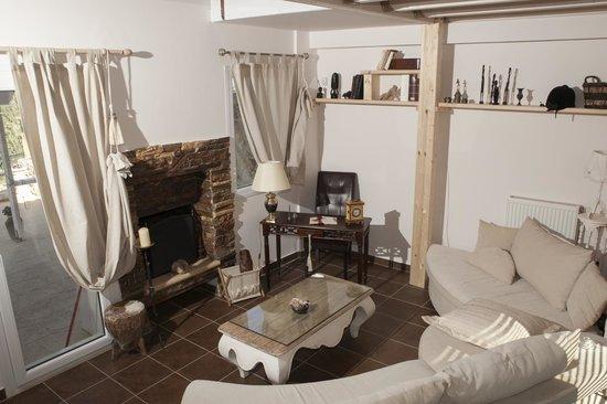 Καθιστικό - Villa Suites