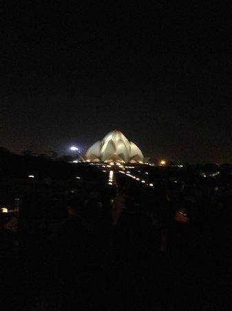Bahai Lotus Temple : View 1