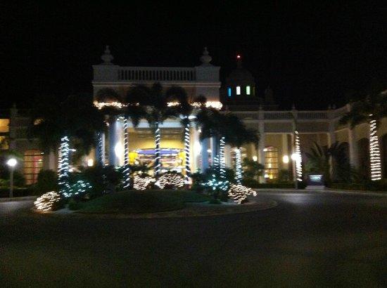 Hotel Riu Palace Bavaro: kerstsfeer bij aankomst