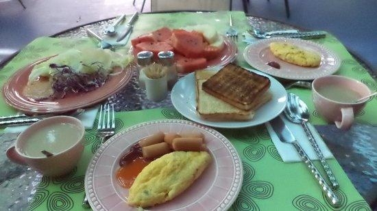 Fairtex Sports Club Hotel: Lovely Breakfast Everydayy
