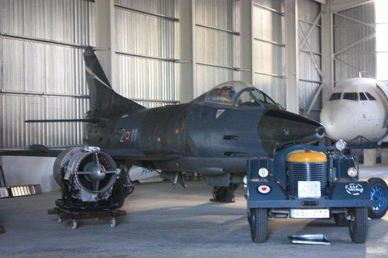 Malta Aviation Museum: Fiat G91 Italian Fighter