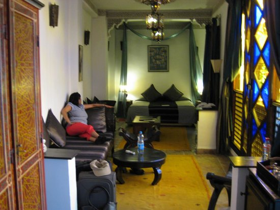 Angsana Riads Collection Morocco - Riad Blanc: Larger room that we were upgraded to