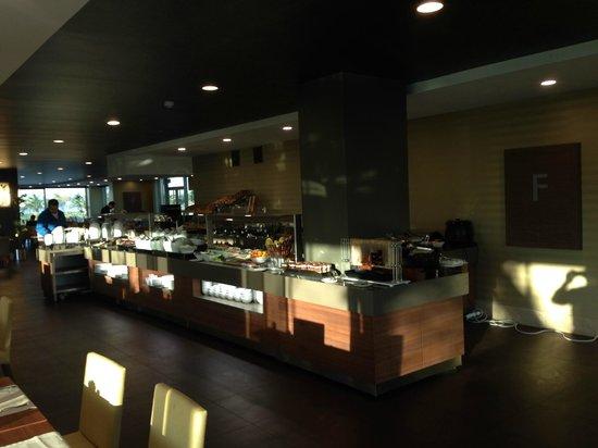 Cevahir Hotel Istanbul Asia: Breakfast room