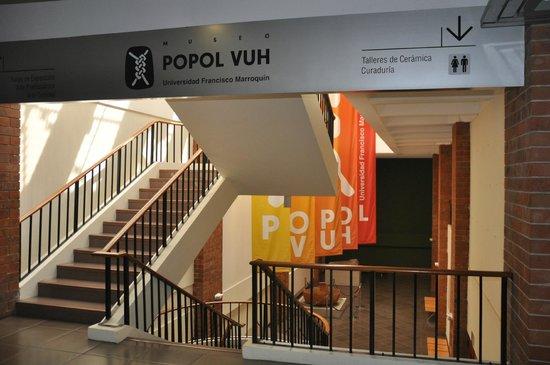 Museo Popol Vuh: Entrance