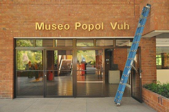 Museo Popol Vuh: Front Entrance