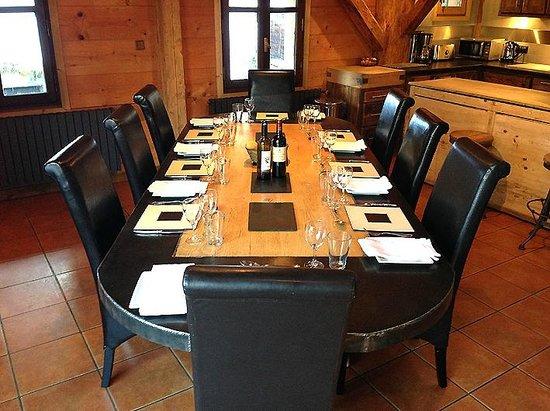 Snow Candy - Chalet La Plagnette: Dining Room