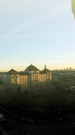 arcona LIVING GOETHE87: The view in the morning from Room 6.2