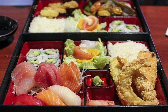 Ogawa Japanese Restaurant: Sushi Sashimi Box