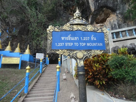 Ein Paar Stufen - Picture of Tiger Cave Temple (Wat Tham ...