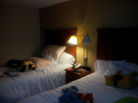 Hampton Inn Wheeling: Room